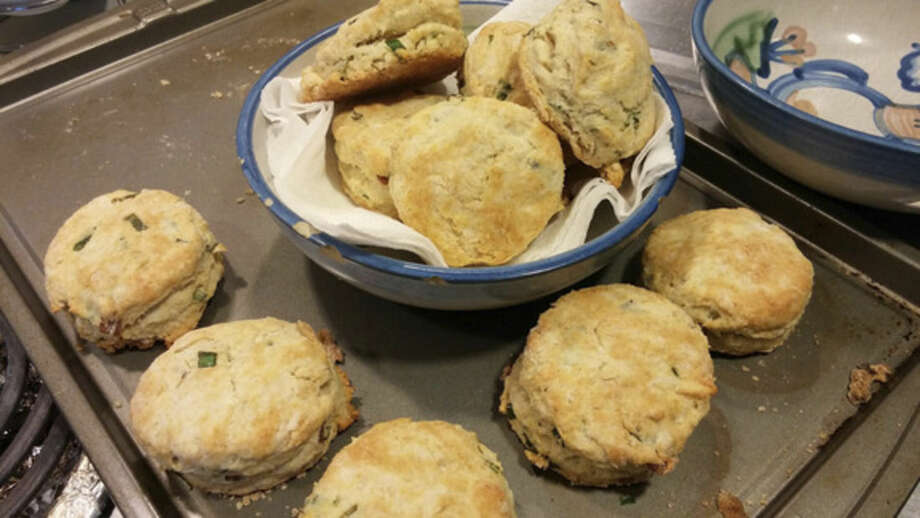Photo by Frank WhitmanBacon and ramp biscuits.