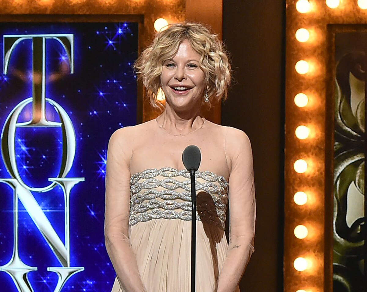 Actress Meg Ryan speaks onstage during the 70th Annual Tony Awards at The Beacon Theatre on June 12, 2016 in New York City.
