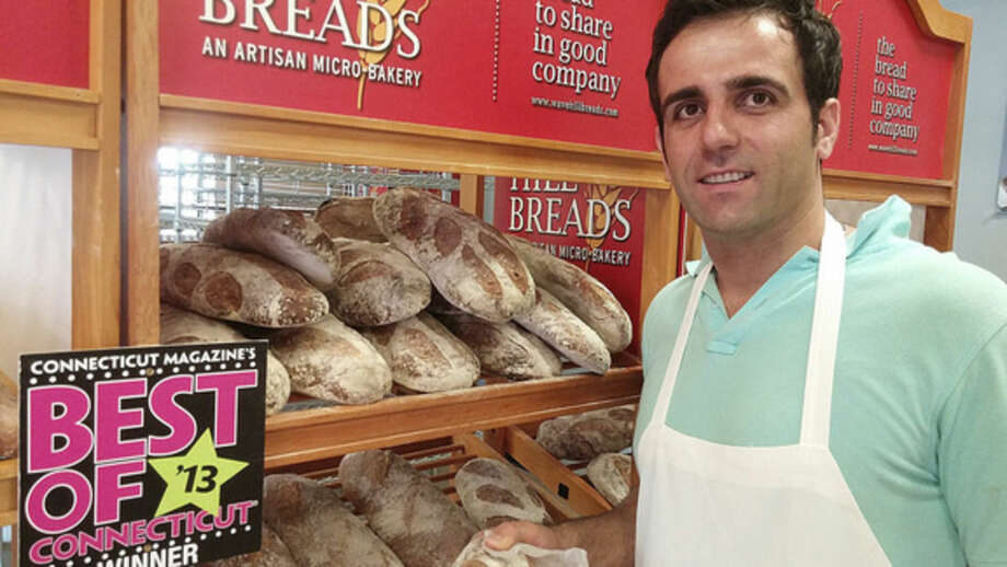 Photo by Frank WhitmanMaster baker Tim at Wavehill Breads in Norwalk.