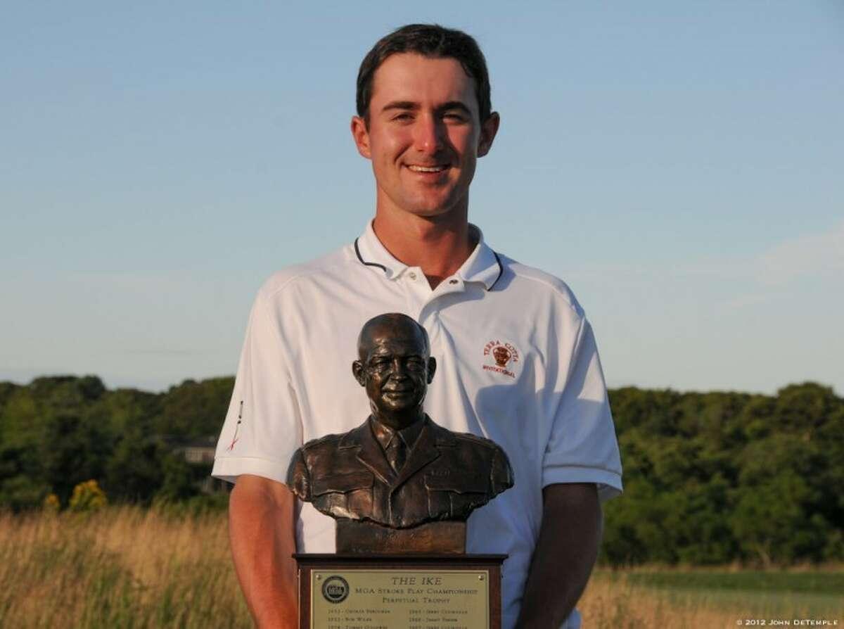 Cameron Wilson of Rowayton won the 57th Ike Championship by nine strokes on Wednesday.