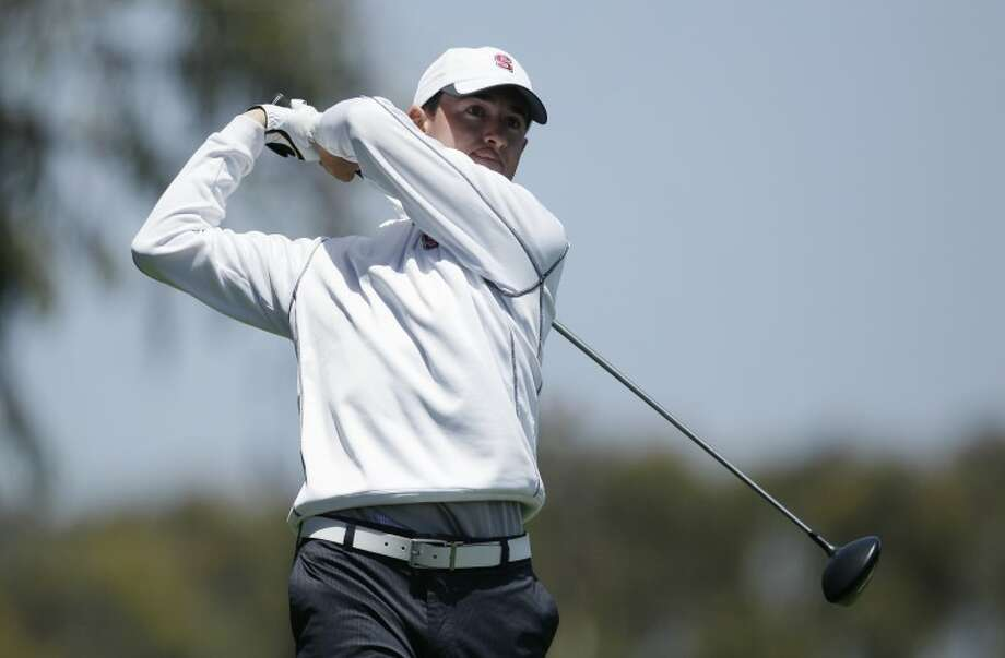Amateur Cameron Wilson during the first round of the U.S. Open Championship golf tournament Thursday, June 14, 2012, at The Olympic Club in San Francisco. (AP Photo/Ben Margot)