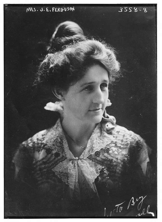 Miriam Amanda Wallace Ferguson (1875 - 1961), American politician. This image was taken of Miriam Amanda Wallace Ferguson when she was First Lady of Texas, prior to her being elected Governor in her own right. Click forward to see more badass women of Texas. Photo: Library Of Congress