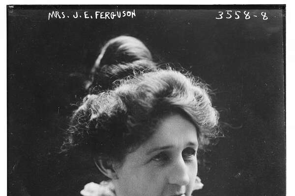 Miriam Amanda Wallace Ferguson (1875 - 1961), American politician. This image was taken of Miriam Amanda Wallace Ferguson when she was First Lady of Texas, prior to her being elected Governor in her own right.