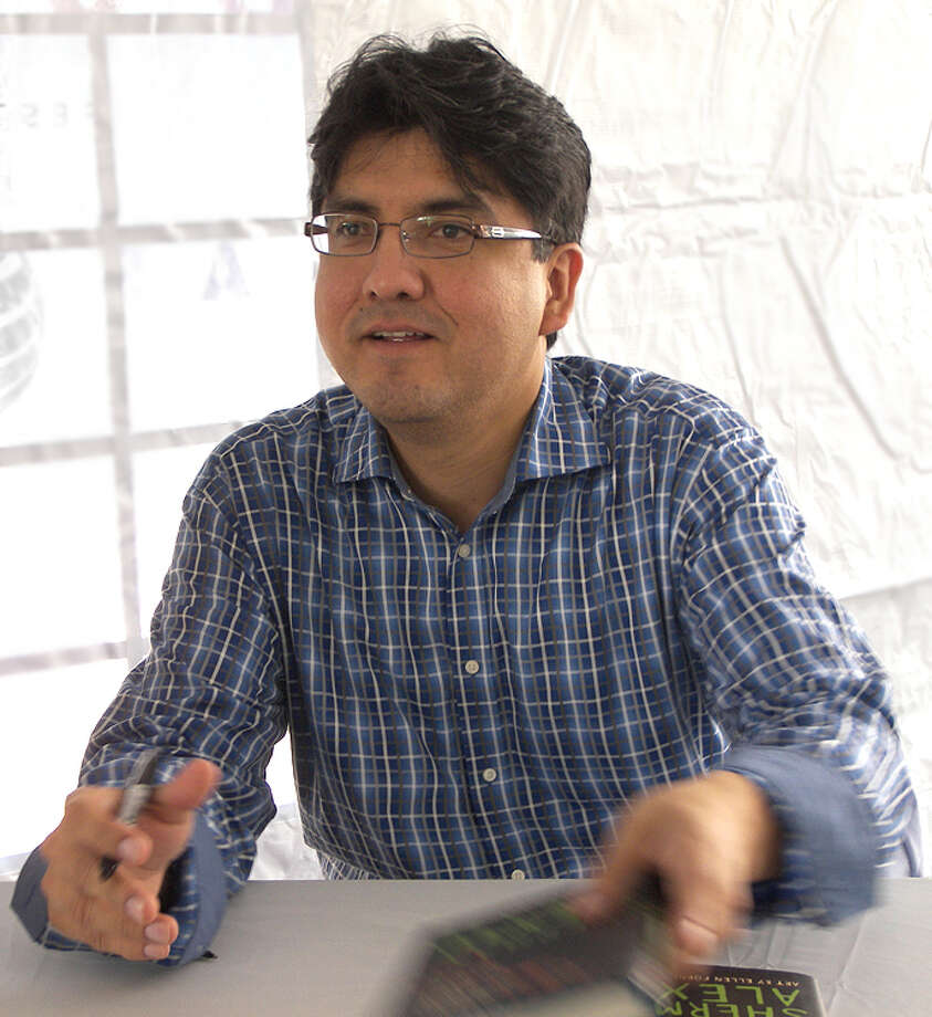 """Author Sherman Alexie's book """"The Absolutely True Diary of a Part-Time Indian"""" is frequently on the banned books list. Photo: Courtesy Photo"""