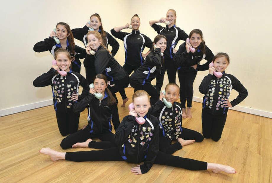 Hour Photo/Alex von KleydorffNorwalk Academy of Dance Competition team in a scene from Bye Bye Birdie.