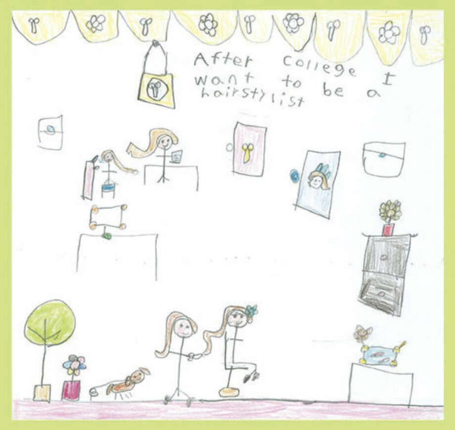 Contributed photo1st grader Ashley Gomez' winning drawing in the CHET Dream Big! Competition.