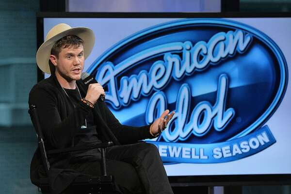 "NEW YORK, NEW YORK - APRIL 11:  Trent Harmon, winner of the final season of ""American Idol"" discusses his experience on the show and the road ahead at AOL Build at AOL Studios In New York on April 11, 2016 in New York City.  (Photo by Slaven Vlasic/Getty Images)"