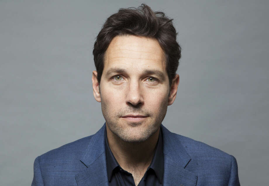 "In this Saturday, June 27, 2015 photo, actor Paul Rudd poses for a portrait in promotion of the new film, ""Ant-Man,"" in Burbank, Calif. The movie releases in the U.S. on July 17, 2015. (Photo by Rebecca Cabage/Invision/AP)"