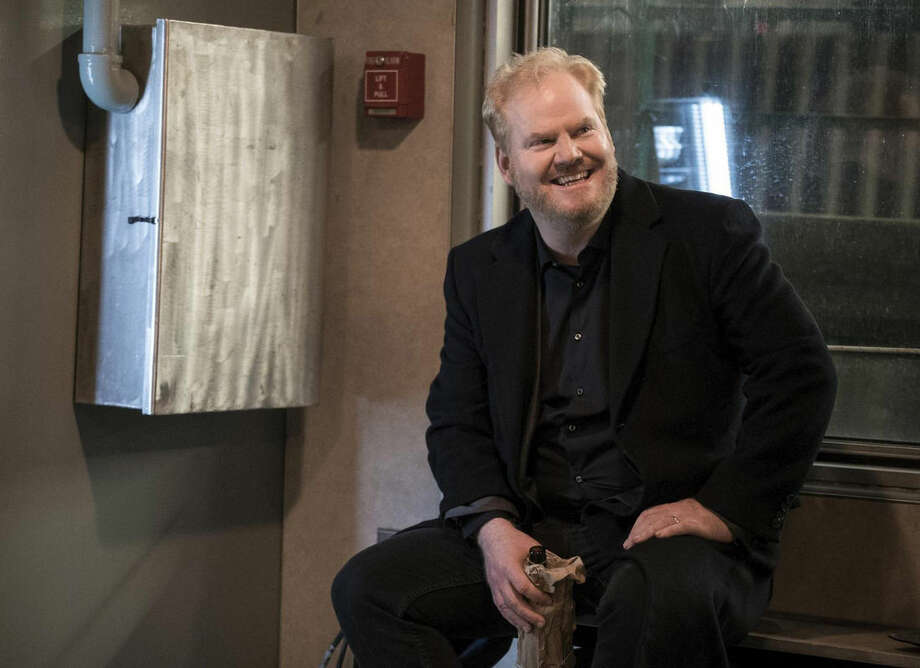 "This image released by TV Land shows Jim Gaffigan in a scene from his new comedy series, ""The Jim Gaffigan Show,"" premiering Wednesday, July 15, at 10 p.m. EDT on TV Land. (TV Land via AP)"