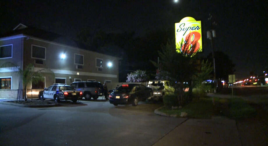 A Woman, 26, was injured when a car hit her as she stood in the street about 10:20 p.m. Sunday in the 5600 block of W. 34th Street near Antoine. (Houston Metro)