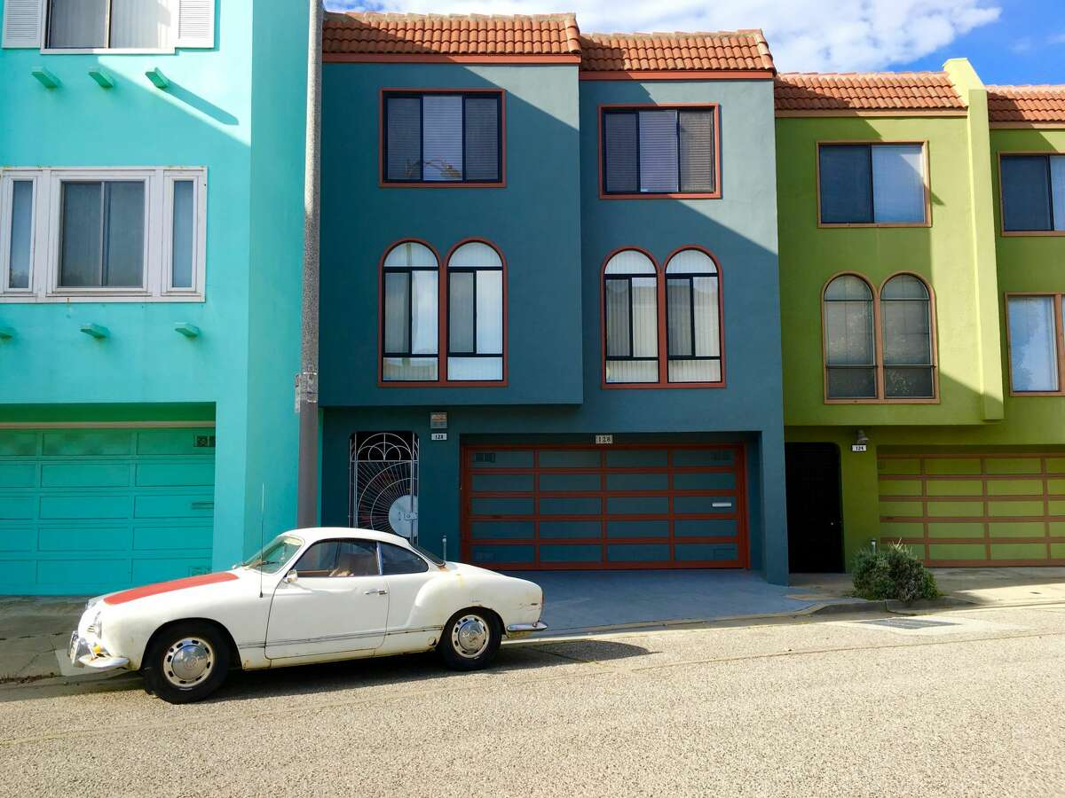 A Karman Ghia on Dorado Terrace. Michael Victor's instagram page (@the415guy) is made up entirely of San Francisco photos from his walks through the city.