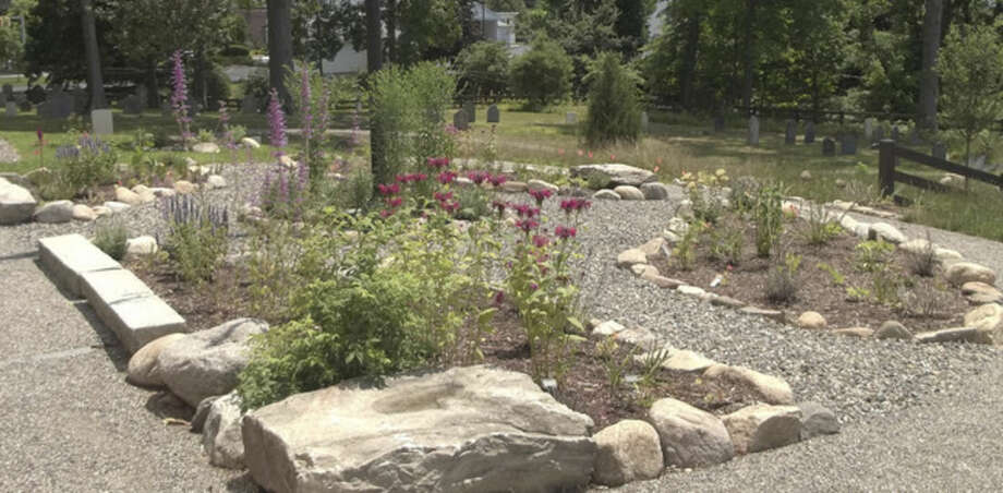 Photo by Joanne HughesThe Colonial Herb Garden at Mill Hill in Norwalk.