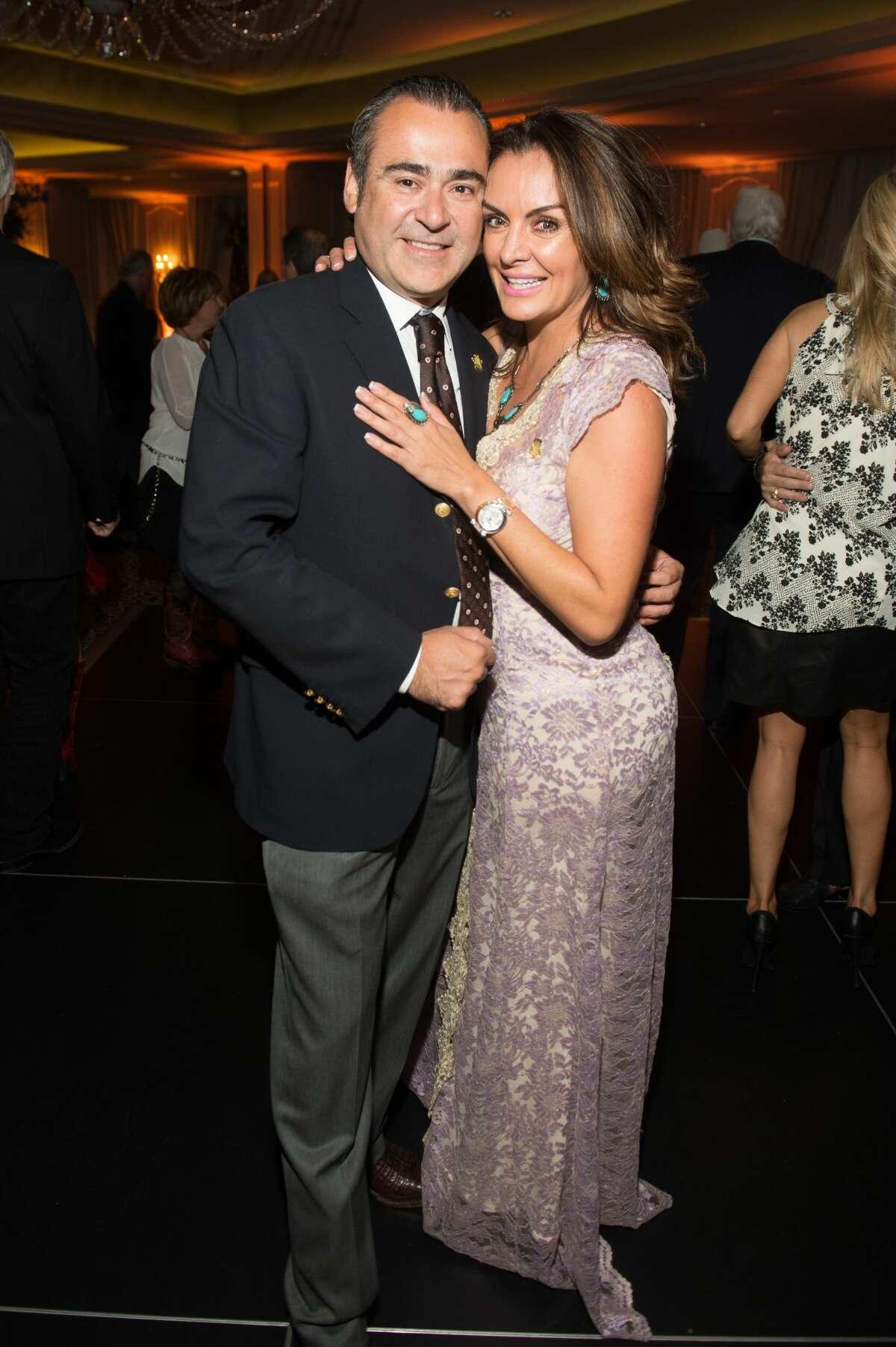 Rafael Chavez and Carmina Zamorano