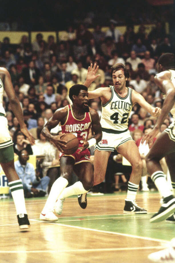 Photo courtesy of Houston RocketsNorwalk native Calvin Murphy (23) drives during a 1981 Houston Rockets game against the Boston Celtics. The most celebrated athlete of any color to come out of Norwalk, Murphy says Black History Month is something he takes seriously, adding he has never stopped learning.