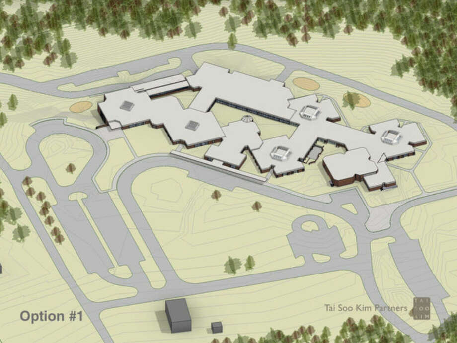 Contributed imageA map of the proposed renovations to Miller-Driscoll School.