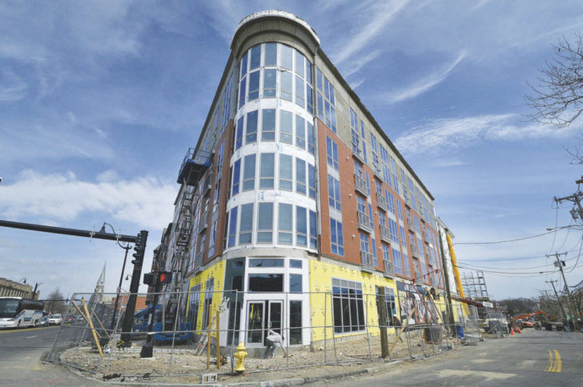 Hour photos / Alex von Kleydorff Waypointe, on the corner of Orchard Street and West Avenue in Norwalk, has been popular with renters since it started leasing units at the start of 2014.