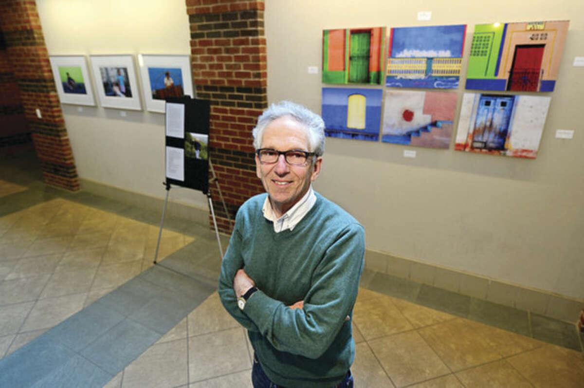 Hour photo / Erik Trautmann Former Norwalk Teacher Tom Kretsch has a photo exhibit opening at Darien Library on Friday, March 21. The exhibit is called