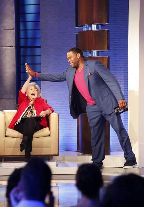 "Betty White and Anthony Anderson on ""To Tell the Truth."" Photo: Kelsey McNeal, ABC"