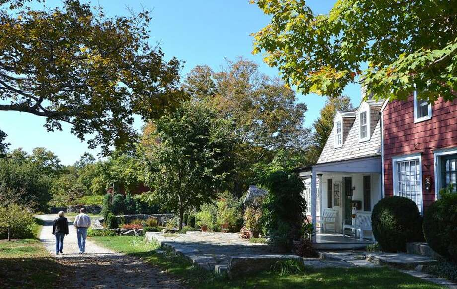 Just after noon on Tuesday two people were the last to enjoy the property at Weir Farm National Historic Site in Wilton.