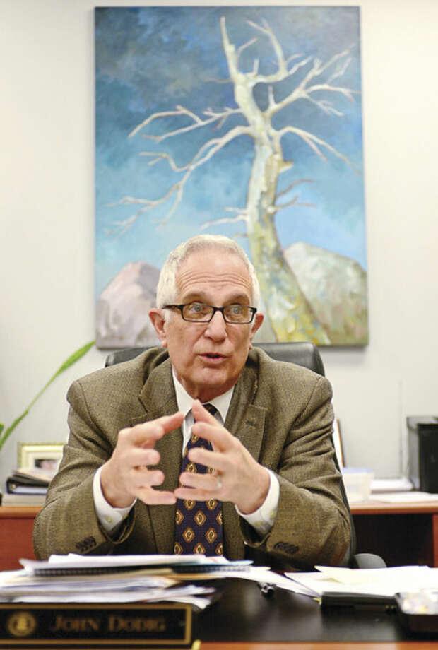 John Dodig, principal of Staples High School, recalls his career highlights.