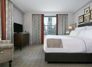 The 704 guest rooms of the InterContinental New York Barclay, reopened in May after a $180 million renovation, have American Colonial and Federalist decor similar to the original 1926 hotel.