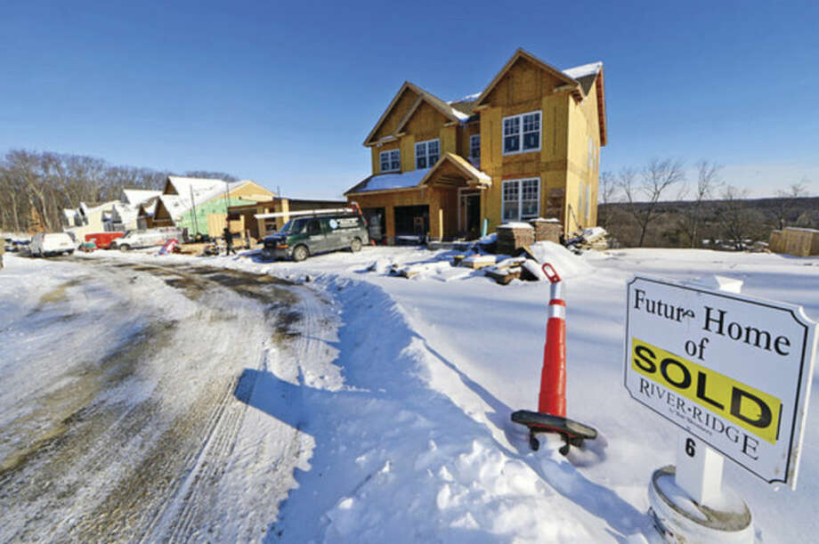 Hour photo / Erik Trautmann16 of the 20 houses priced around $800,000, in the luxury home development, River Ridge, have been sold.