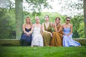 Kate Greer, Margot, Liza Voloshin, Cleo Wade, Mia Moretti at the Philip Johnson Glass House's annual Summer Party in New  Canaan on June 11, 2016. The event featured a picnic by Schoolhouse at  Cannondale in Wilton, music by DJ Mia Moretti, classic lawn games like  chess and ping-pong and art collections on view. Were you SEEN?