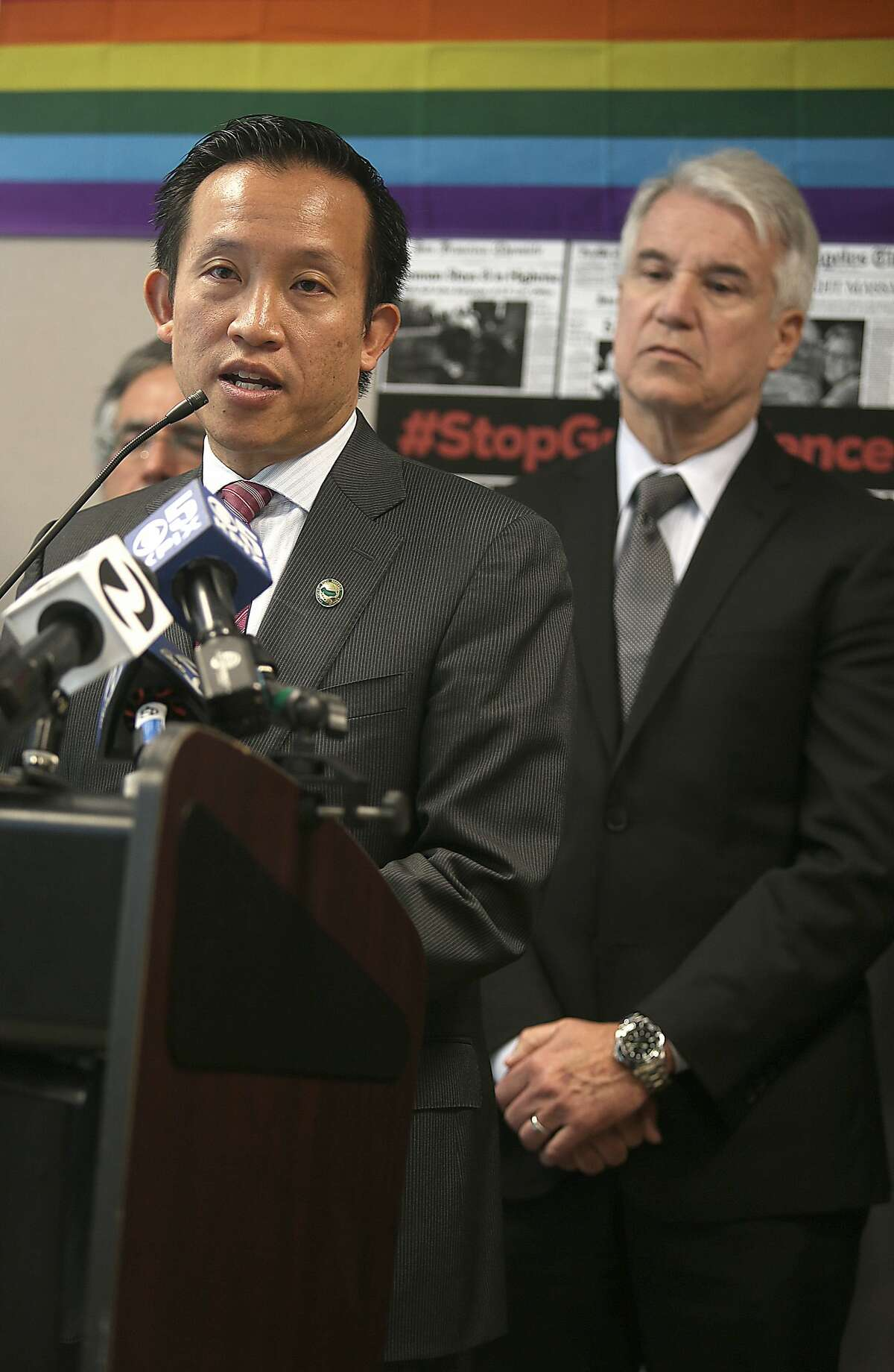 Homeowners would lose their tax deduction on a second home to help the state pay for affordable housing under a plan announced Monday, Dec. 19, 2016, by Assemblyman David Chiu (D-San Francisco, left). Click through to read more about the Bay Area's best and worst housing markets.