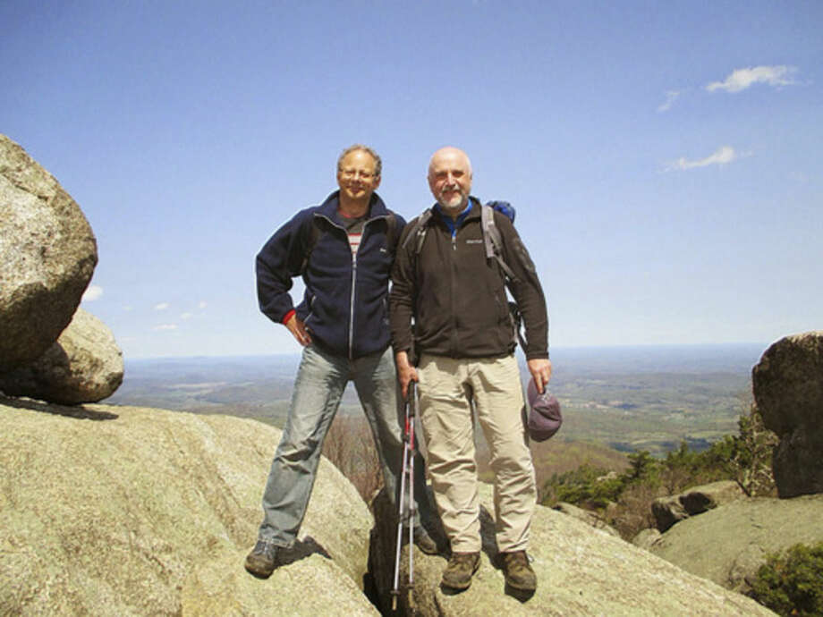 Photo by Mike MehtaMike and Rob on Old Rag.