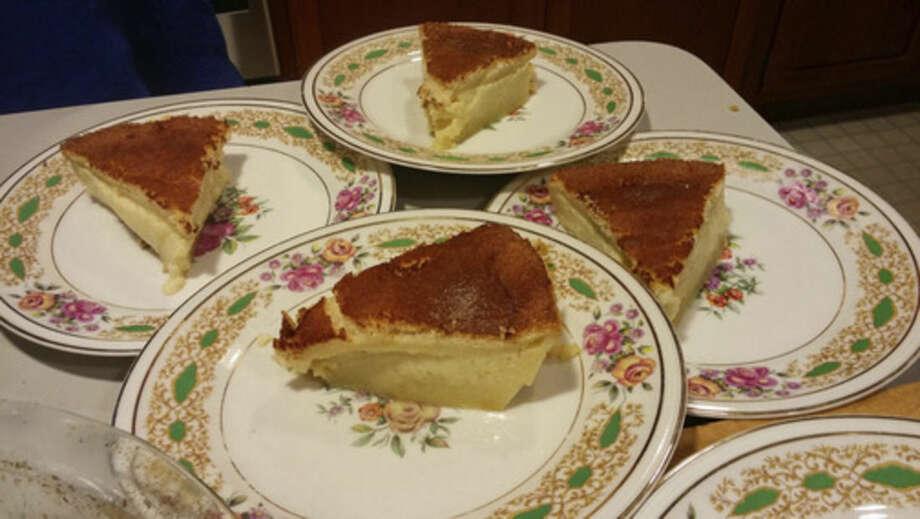 Photo by Frank WhitmanMelktert for dessert.