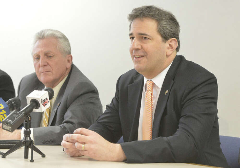 Hour Photo/Alex von Kleydorff State Rep Chris Perone , part of the newly formed Norwalk Central Task Force