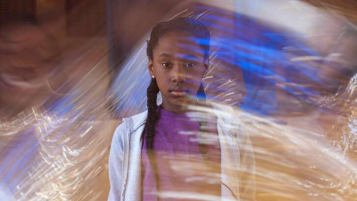 Toni (Royal Hightower) hangs out at an inner-city rec center in the poetic  coming-of-age tale �The Fits.�