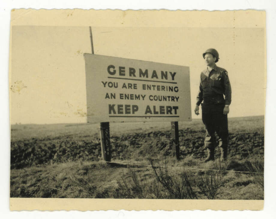 AP Photo/Courtesy Bernard Dargols' familyThis photo dated Dec. 1944, provided by Dargols' family shows Bernard Dargols near Aachen in Germany. When he left Paris at age 18, the plan was to go to New York for a year and learn his father' sewing machine trade.