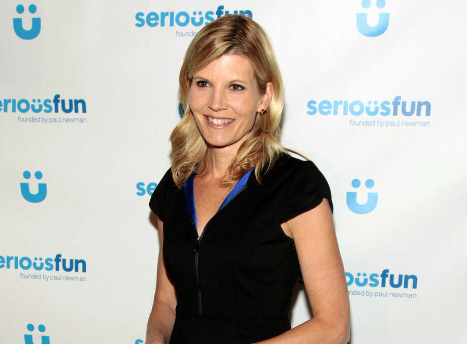 FILE - In this April 2, 2014 file photo, television journalist Kate Snow attends the SeriousFun Children's Network Benefit Gala in New York. MSNBC on Thursday appointed Kate Snow to anchor an afternoon news broadcast. The daytime lineup will have news programs anchored by Snow, Andrea Mitchell, Thomas Roberts, Tamron Hall and Jose Diaz-Balart. (Photo by Andy Kropa/Invision/AP, File)