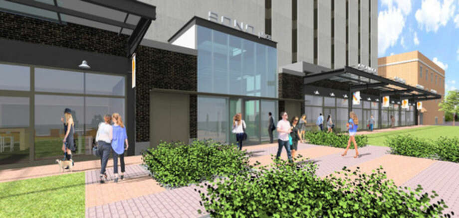 Contributed renderingA rendering of what 50 Washington Street will look like following renovations.