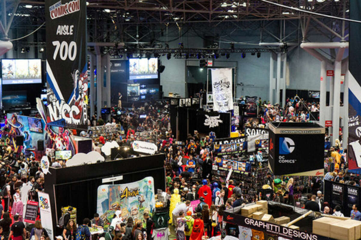 Contributed photo Reed Exhibitions organizes New York Comic Con -- a Comic Book convention -- in New York City.