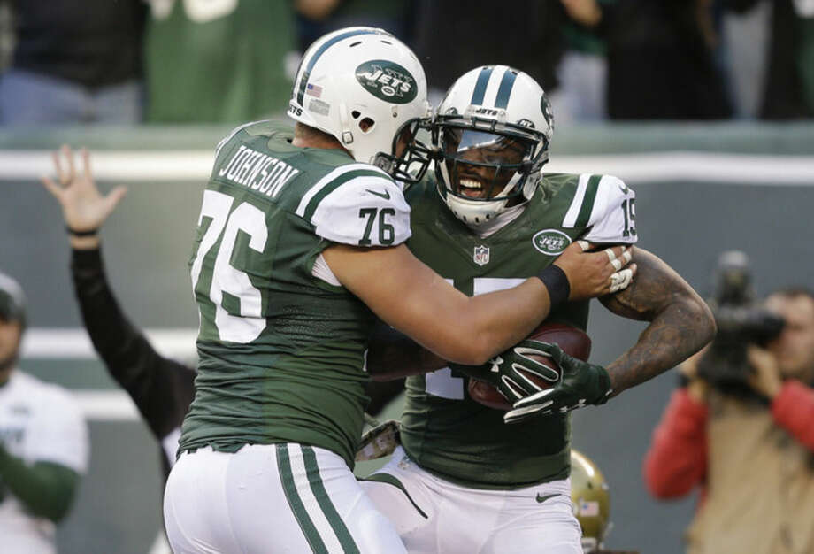 hot sale online c87bf c8b9c Fitzpatrick, Ivory lead Jets to 28-23 victory over Jaguars ...