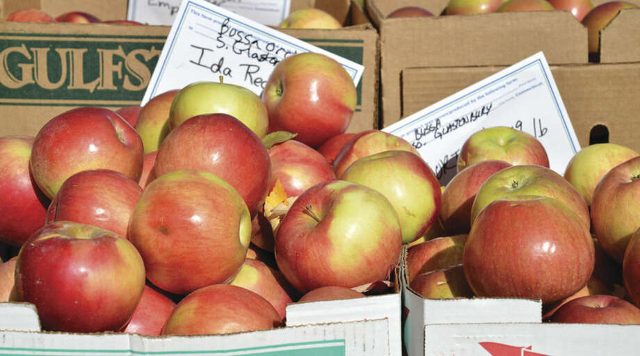 Hour Photo/Alex von Kleydorff Apples of all varieties at the St. Paul's Farmers Market
