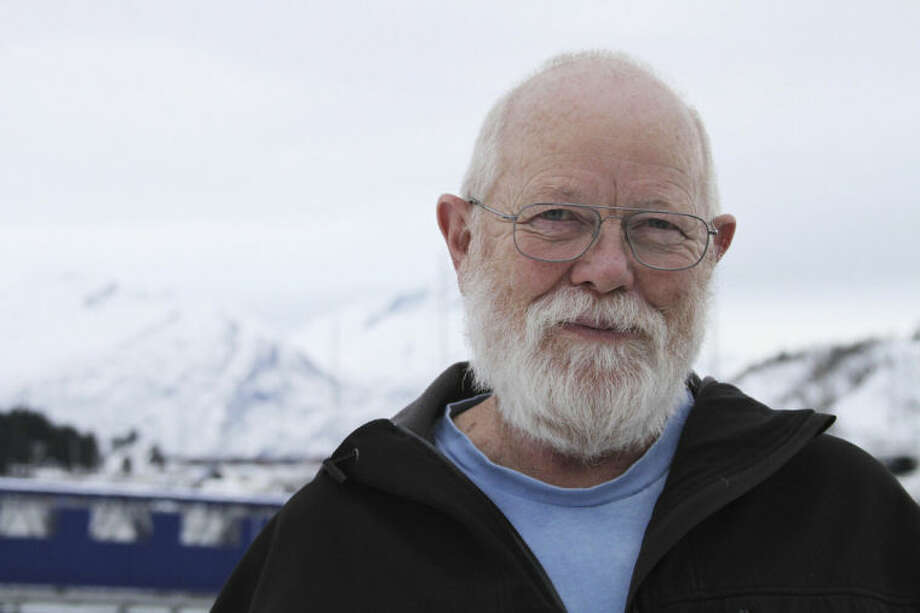In this photo taken Feb. 26, 2014, fisherman Bernie Culbertson poses in Valdez, Alaska. Culbertson was preparing to fish cod when the Exxon Valdez ran aground in March 1989. The spill changed life for many in Valdez, and he said the bottom fell out of the price for fish. Many fishermen lost boats or their homes. (AP Photo/Mark Thiessen)