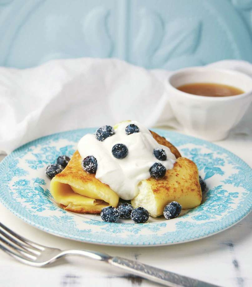"Ashkenaz's Blintz Treat is featured in ""The Book of Lost Recipes."" Photo: Jennifer Blume"