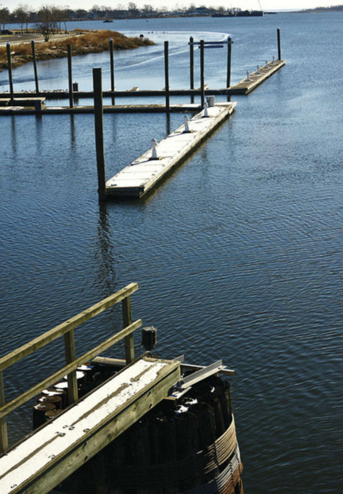 Hour photo / Erik Trautmann The Norwalk Visitor's dock face further restrictions.