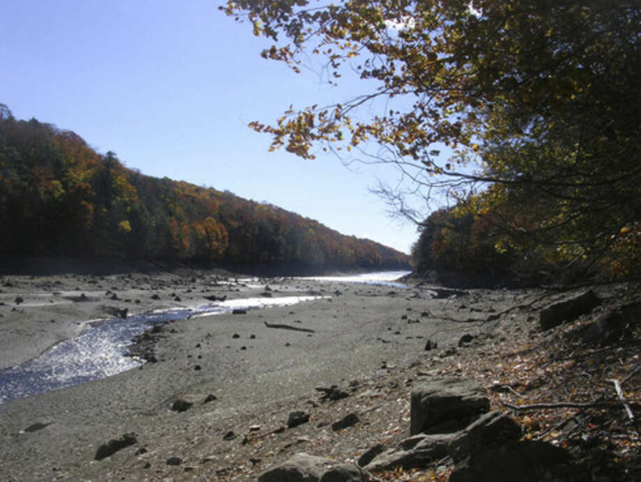 Photo by Rob McWilliamsBargh Reservoir at Mianus River Gorge.