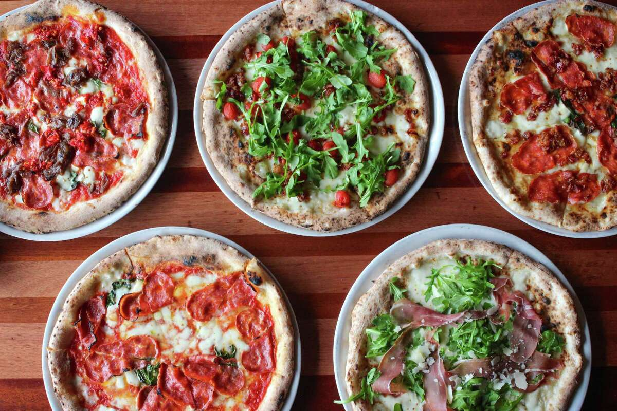 HeightsCane RossoLocation : 1835 North ShepherdThin, Neapolitan-style pizzas; salads, cured meats; three pasta dishes.