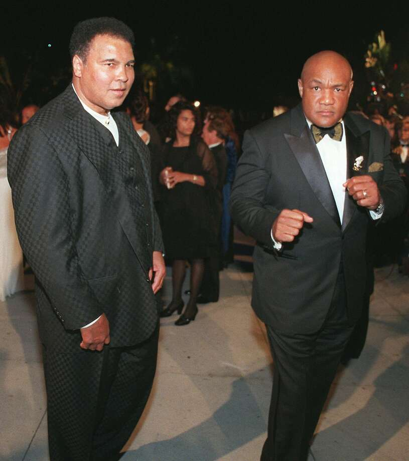 Iconic boxing event Rumble In The Jungle to become Broadway musical. Rumble in the Jungle pitted challenger Muhammad Ali against undefeated world heavyweight champion George Foreman, who grew up in Houston. (AP Photo/E.J. Flynn)>>> Click through to see photos of 1974's Rumble in the Jungle event. Photo: E J FLYNN, Associated Press