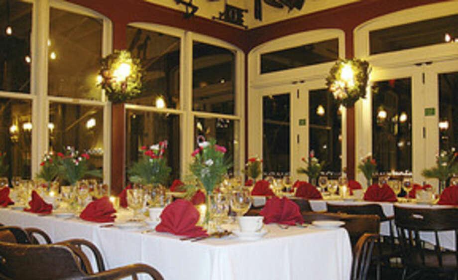 Photo by Frank WhitmanA restaurant at Christmas.