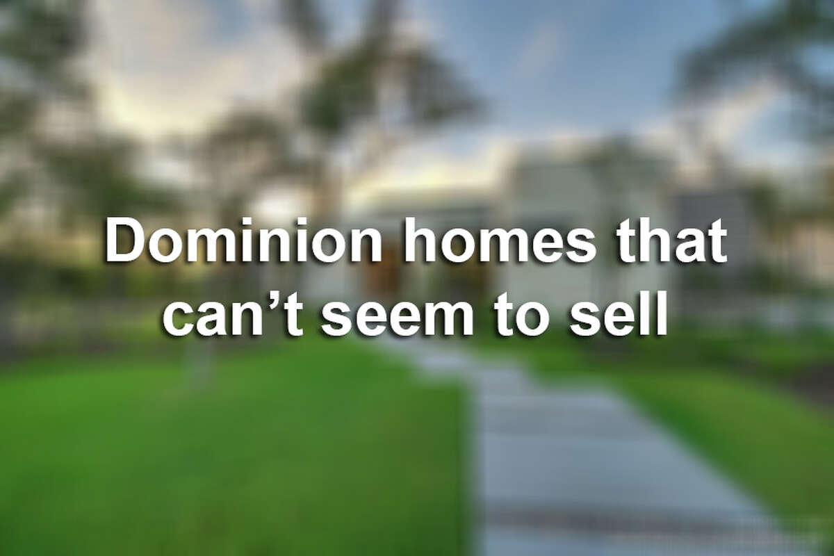 Mansions in The Dominion may seem like hot commodities, but a look at the affluent community's real estate shows some homes spending more time on the market than average.Here are 10 Dominion homes that just can't seem to sell.