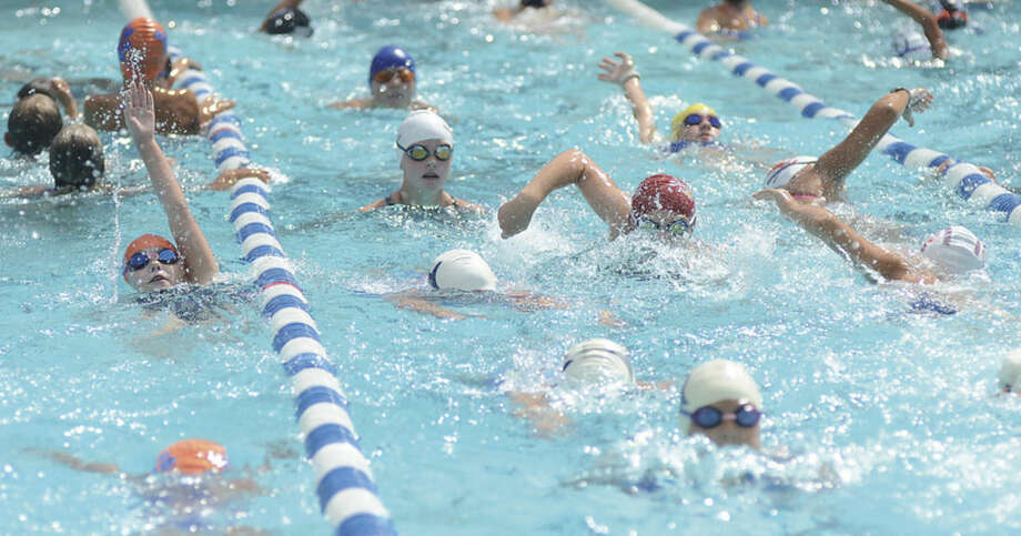 Hour photo/John NashThe Roxbury Swim Club's pool will be full once again on Saturday as the Fairfield County Swim League holds its championship meet in Stamford.