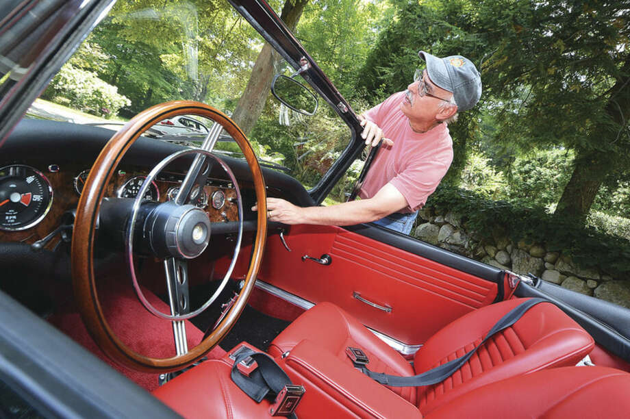 Norwalk Man To Showcase His Classic Car At Lime Rock Sunday The Hour - Classic car showcase