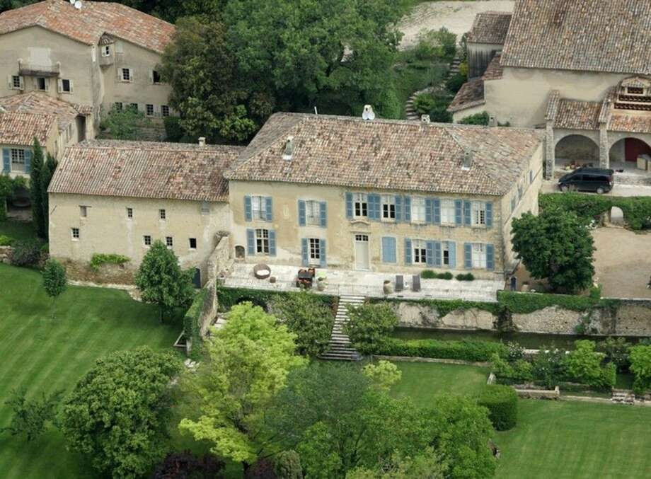 - FILE - This May 31, 2008 file photo shows the Miraval property in Correns, near Brignoles, southern France, which is owned by U.S. actors Angelina Jolie and Brad Pitt. Jolie and Pitt were married Saturday Aug. 23, 2014 in Chateau Miraval, France, says a spokesman for the couple. Jolie and Pitt wed Saturday in a small chapel in a private ceremony attended by family and friends. In advance of the nondenominational civil ceremony, Pitt and Jolie also obtained a marriage license from a local California judge. (AP Photo/Lionel Cirronneau, File)