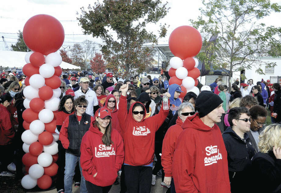 The American Heart Association Heart Walk celebrates it's 20th anniversary Sunday as it kicks off at Calf Pasture Beach in Norwalk.Hour photoMatthew Vinci